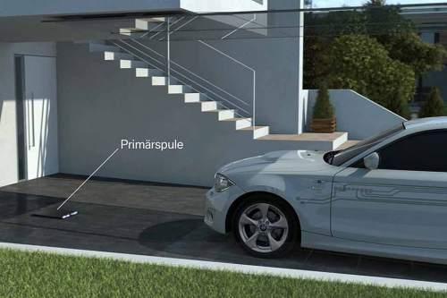 BMW, Daimler, Elektroauto, E-Auto, Induktion