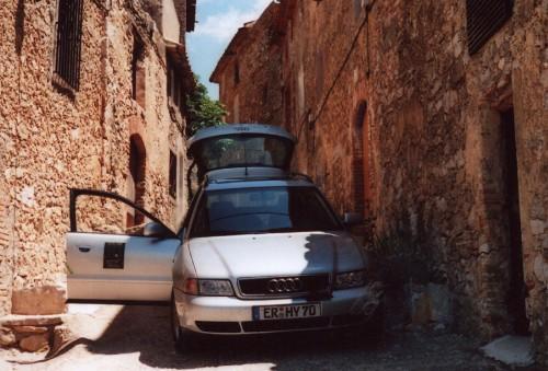 Elektrisch in Spanien unterwegs - mit Audi.