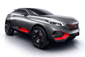 Hochbeinig: Der Quartz steht auf 23 Zoll großen Aluminiumfelgen. Zumindest als Concept Car.
