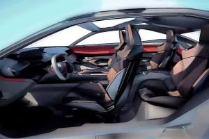 Innenraumimpressionen: Dank eines neuen Herstellungsverfahrens konnte auf die B-Säule verzichtet werden. Und es gibt Schalensitze für alle.