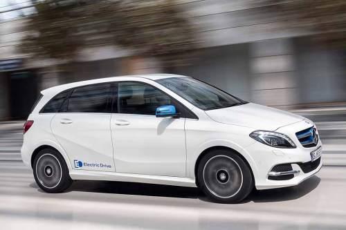 Der Antrieb ist von Tesla, die Hülle von Mercedes: B-Klasse Electric Drive.