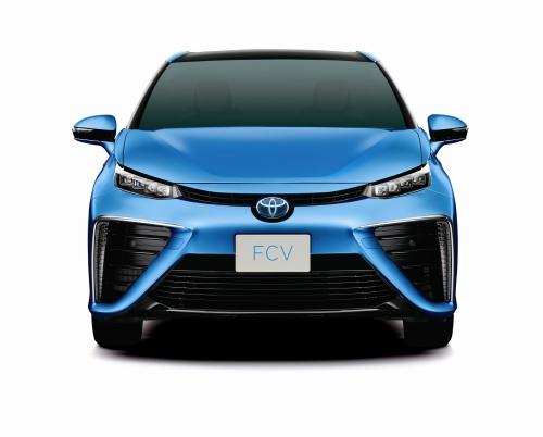 """Der """"Mirai"""" - so sieht Toyotas Zukunft aus."""