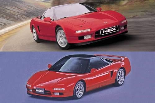 Ein bisschen Ferrari, ein bisschen Japan, dazu eine radikale Keilform und viele Kanten: Der UR-NSX, gebaut von 1990 bis 2005. In Nordamerika und Hongkong wurde das Auto unter dem Markennamen Acura verkauft.