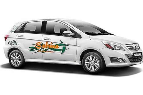 """Äußerlich ähnelt das E-Auto """"Sabrina"""" einem japanischen oder koreanischen Kleinwagen."""