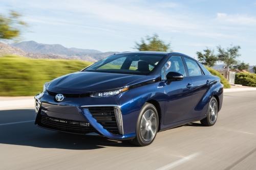 Brennstoffzellenauto für den Alltag: der Toyota Mirai.