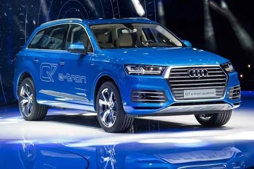 """So könnte der neue """"SAV"""" von Audi aussehen. Außer der Reichweite nannten die Ingolstädter bisher wenige Details."""