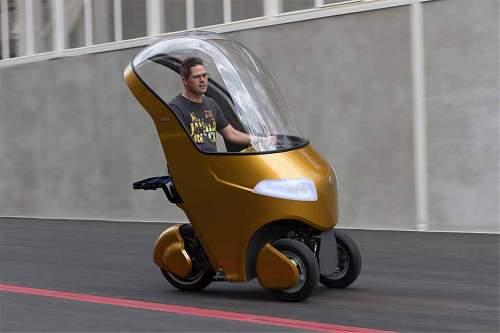 Drei Reifen, eine Idee: Das BICAR ist explizit als Sharing-Fahrzeug konzipiert.
