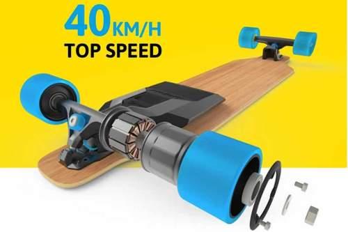 Zwei Stunden Ladezeit, 15 Kilometer Reichweite: die Erfinder von Mellow suchen noch Investoren für ihren Skateboard-Elektromotor.