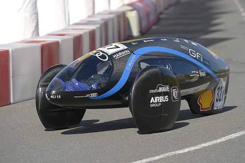 Die deutschen Teams dominierten das Feld der Fahrzeuge mit E-Antrieb. Ein Prototyp der TU München hat in der Kategorie gewonnen.