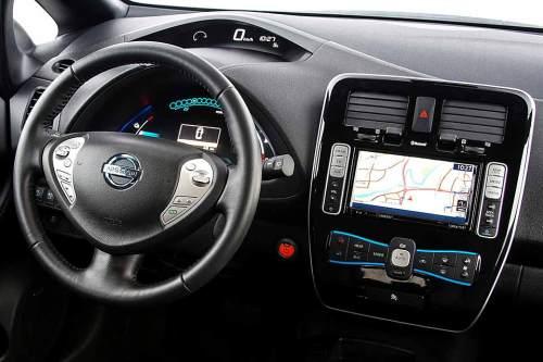 Nissans E-Auto Leaf: ab August mit über 200 km Reichweite (laut Hersteller).