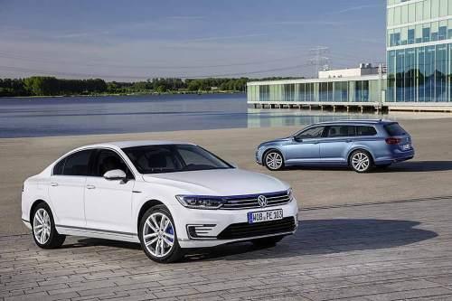 Der Verbrauch sinkt, der Kaufpreis steigt. Der Plug-in-Hybrid Passat GTE soll mindestens 45.000 Euro kosten.