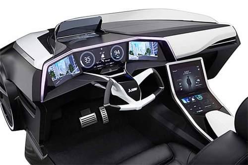 Futuristisches Cockpit: So sieht der Mitsubishi Emirai 3 xDAS von innen aus