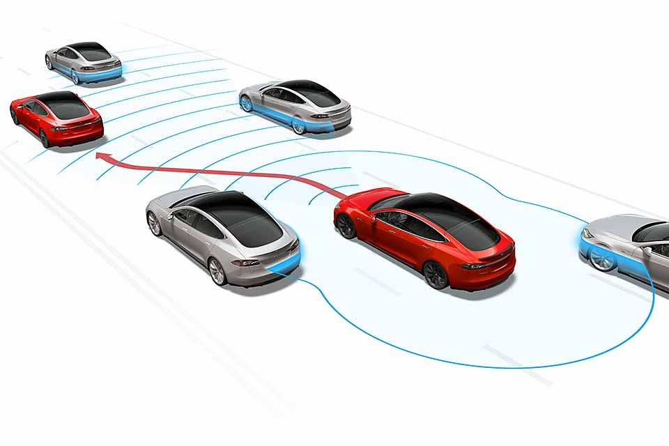 Tesla: Autopilot per Software-Update | Das elektrische Fahrtenbuch