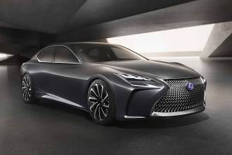 Prototyp des neuen Flaggschiffs: Lexus LF-FC
