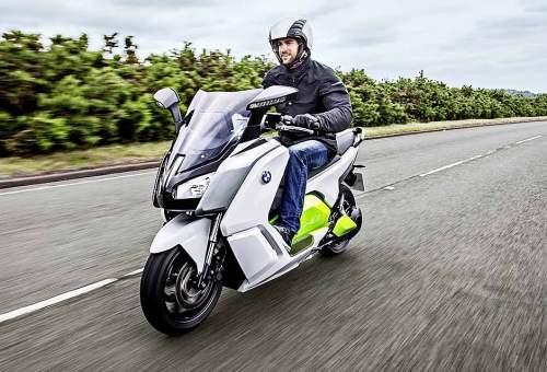 Futuristisch, aber heute schon zu kaufen und zu fahren: BMW C evolution.