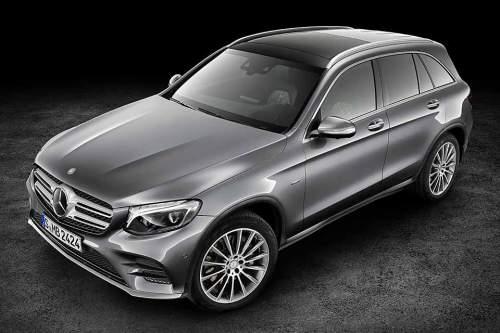Sieht aus wie ein normaler Mercedes: Der neue Wasserstoffantrieb soll im Modell GLC verbaut werden.