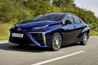 Furistischer Look: Toyota Mirai.