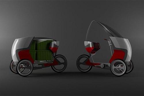 """Umweltschonend, selbständig und förderlich für die eigene Fitness: Das """"Persuasive Electric Vehicle"""""""
