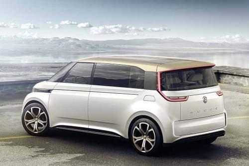 Der VW Budd-E ist ein unerwartet modernes Fahrzeugkonzept. Wann es Serienreife erreicht, ist unklar.