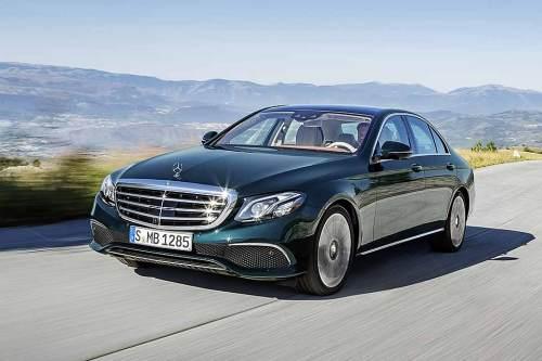 Die neue E-Klasse von Mercedes-Benz wird es auch mit Hybrid-Antrieb geben.