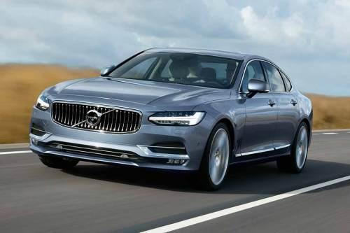 Der Volvo S90 kommt im Sommer 2016 auch als Plug-in-Hybrid zu den Händlern.