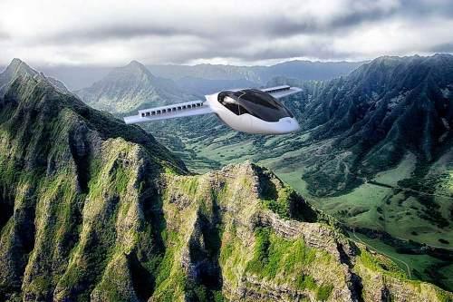 Ist das die Zukunft der Mobilität in überfüllten Metropolregionen? Angeblich kann der Leichtflieger in jedem größeren Vorgarten starten und landen.