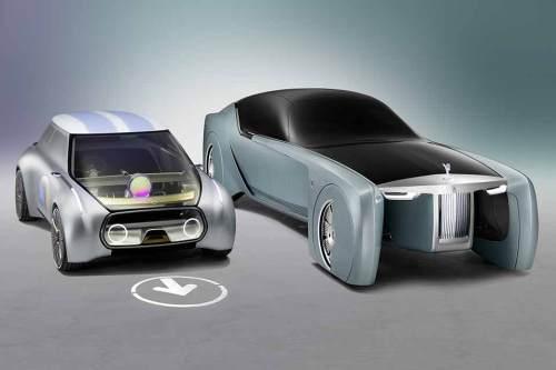 Zwei Autos, ein Konzern: Mini setzt weiterhin auf klein und praktisch, Rolls Royce auf ultimativen Luxus.