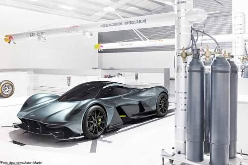 Das Hypercar soll es auf über 350 km/h schaffen.