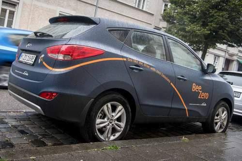 """Wasserstoffautos für alle: Das Konzept von """"BeeZero"""""""