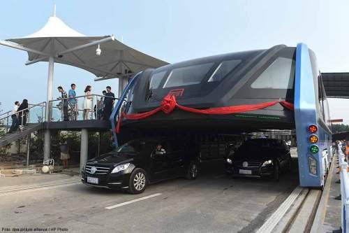 Umweltbewusst und platzsparend: Die Verkehrsinnovation aus China.