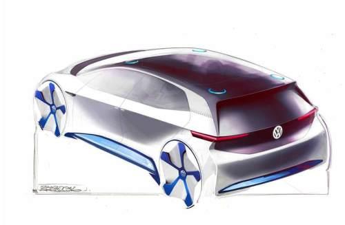 Sieht so die E-Zukunft von VW aus?