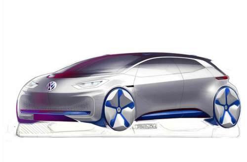 Das VW E-Konzept 2016.