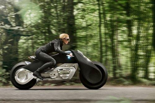 Diese Konzeptstudie von BMW soll unfallfreies Fahren ermöglichen.