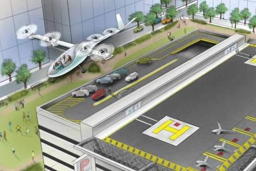 Eine verlockende Idee: Fliegende Taxis, ohne Staus und Wartezeiten.