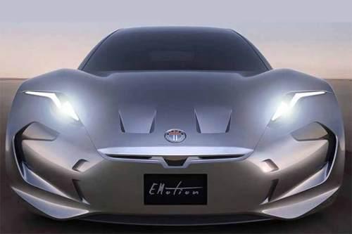 Fiskers neuess E-Auto auch vollautonom fahren können.